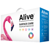 Alive Коллекция средств для поверхностей (Alive Assorted household cleaning products)